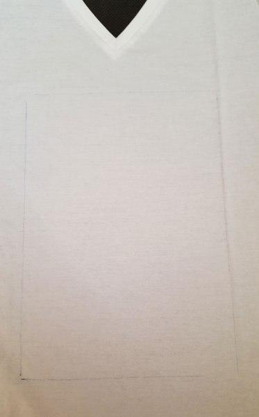afbeelding aftekenen op textiel
