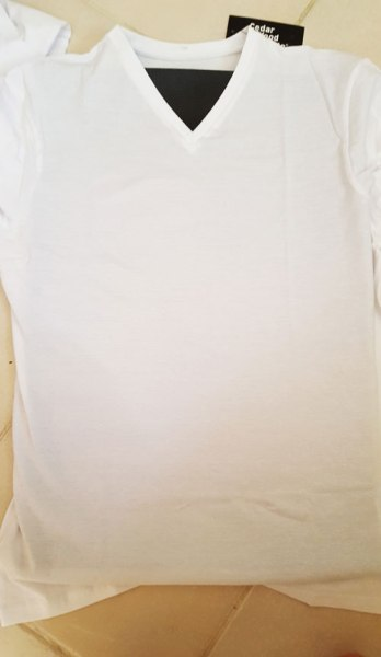 100% katoenen t-shirt